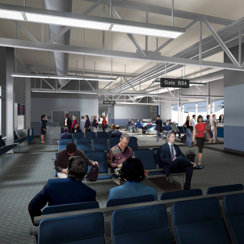 Denver United Terminal: Architectural Projects